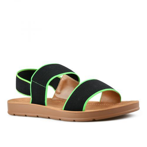 дамски ежедневни сандали черни 0143985
