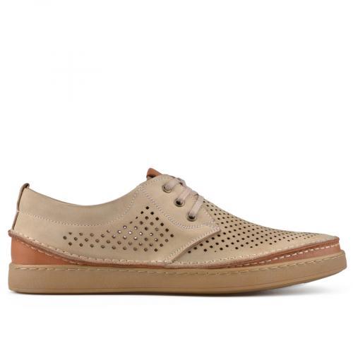 мъжки ежедневни обувки бежови 0138410
