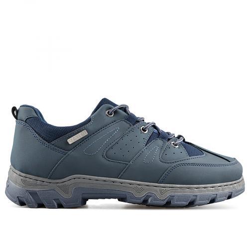 мъжки ежедневни обувки сини 0138883