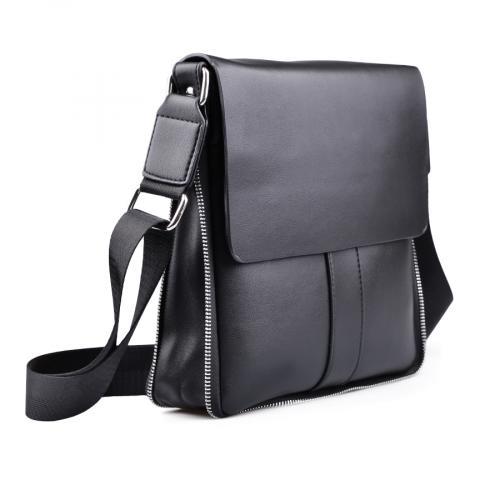 мъжка ежедневна чанта черна 0130635