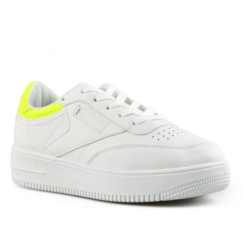 дамски ежедневни обувки бели 0142660