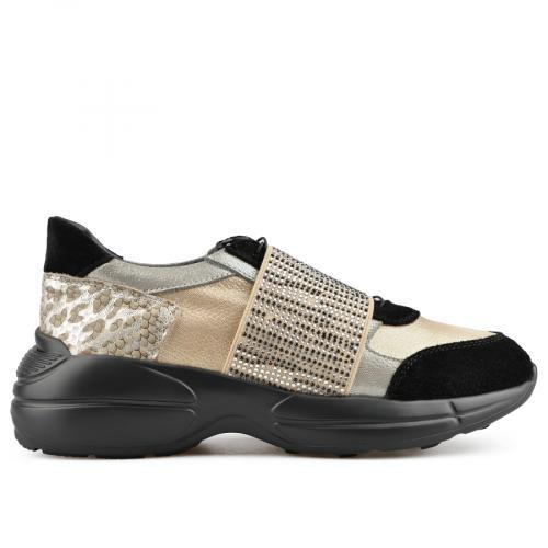 дамски ежедневни обувки златисти 0138480