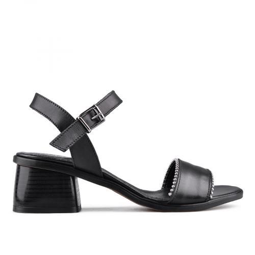 дамски ежедневни сандали черни 0134704