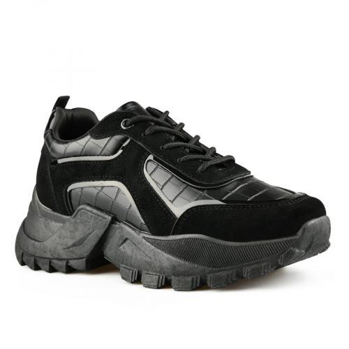 дамски ежедневни обувки черни 0141526