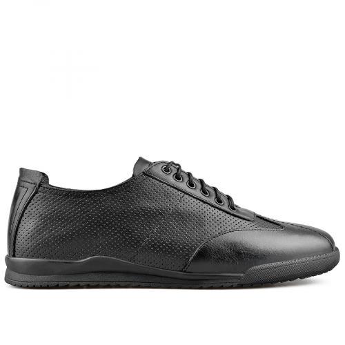 мъжки ежедневни обувки черни 0138286