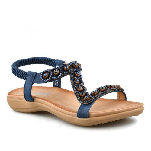 дамски ежедневни сандали сини 0140795