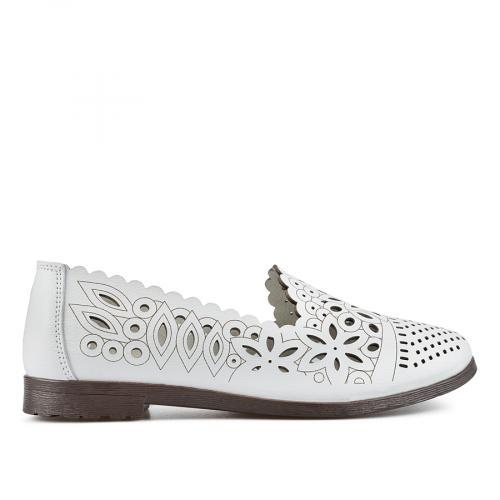 дамски ежедневни обувки бели 0137203