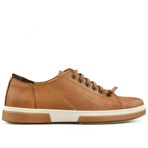 мъжки ежедневни обувки кафяви 0140734