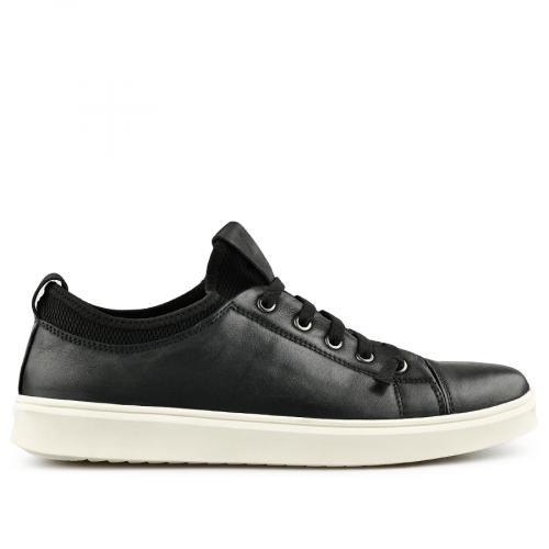 мъжки ежедневни обувки черни 0140743