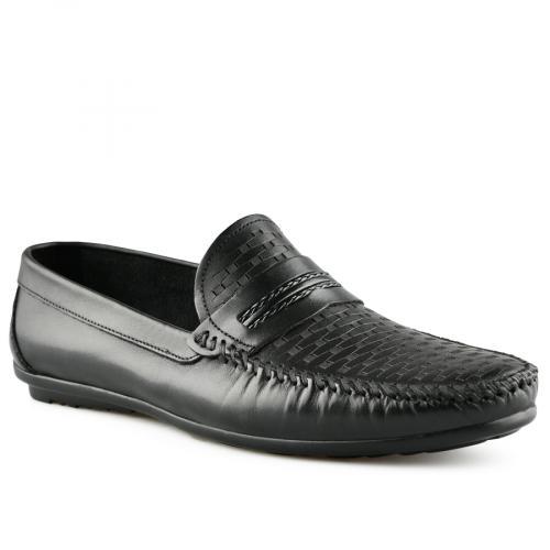 мъжки ежедневни обувки черни 0141254