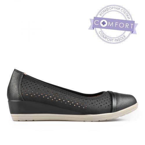 дамски ежедневни обувки черни 0137673