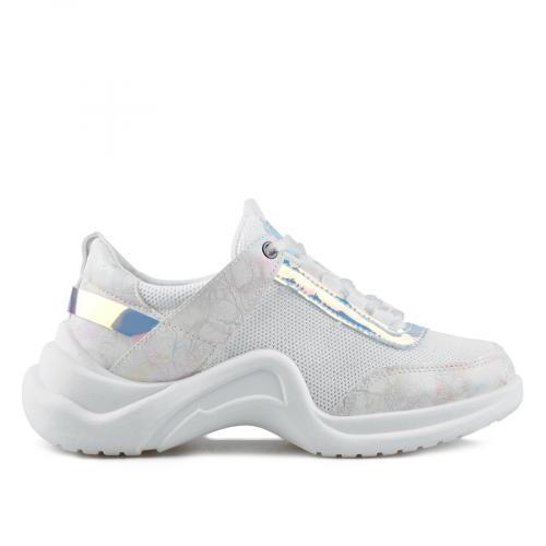 дамски ежедневни обувки бели 0136859