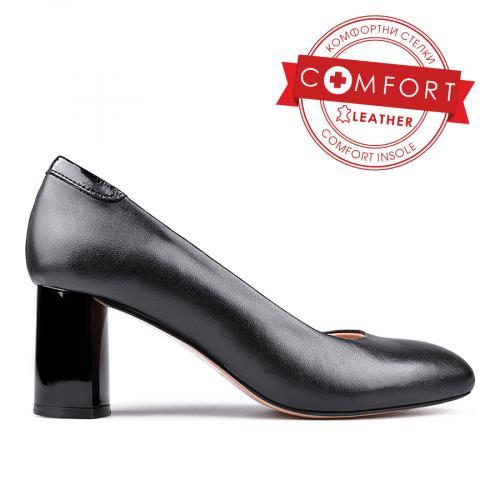 дамски елегантни обувки черни 0131098