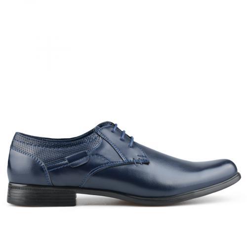 мъжки елегантни обувки сини 0136583