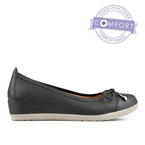 дамски ежедневни обувки черни 0137669