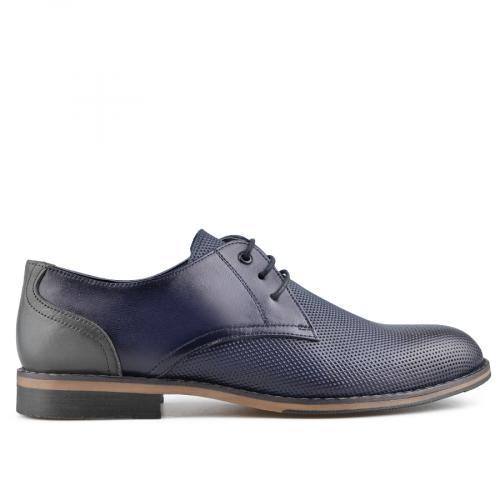 мъжки елегантни обувки сини 0138371