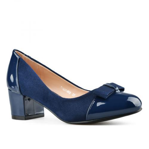 дамски елегантни обувки сини 0143304