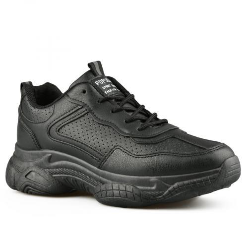 дамски ежедневни обувки черни 0141818