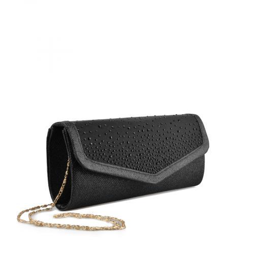 дамска  елегантна чанта черна 0136797