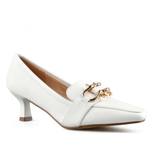 дамски елегантни обувки бели 0143122