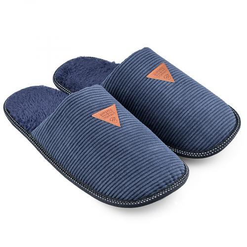 мъжки пантофи сини 0138547