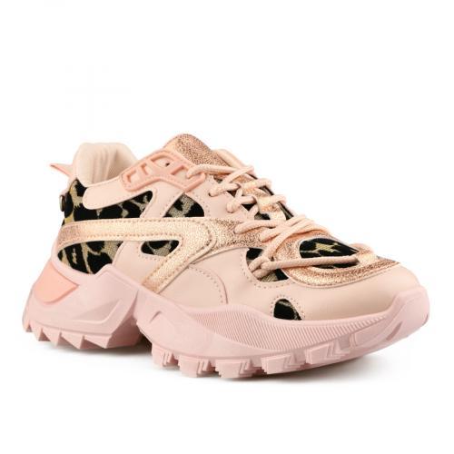 дамски ежедневни обувки розови 0141523