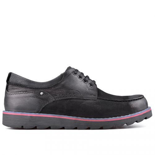 Мъжки ежедневни обувки черни 0128768