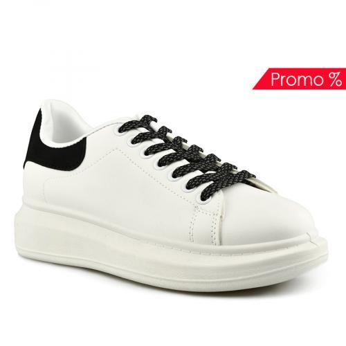 дамски ежедневни обувки бели 0142035