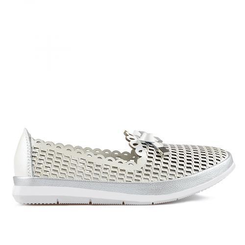 дамски ежедневни обувки бели 0137212