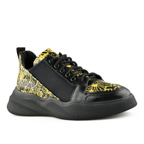 дамски ежедневни обувки черни 0141176
