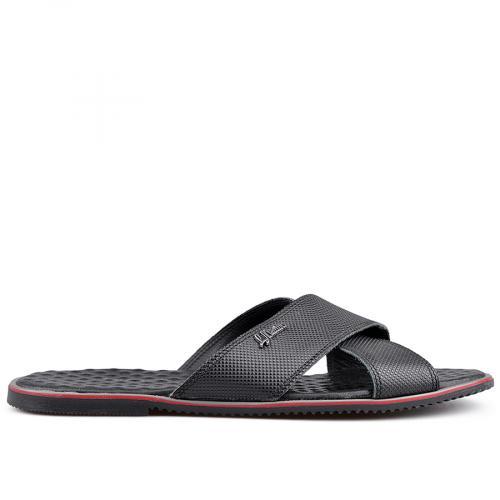 мъжки чехли черни 0124933