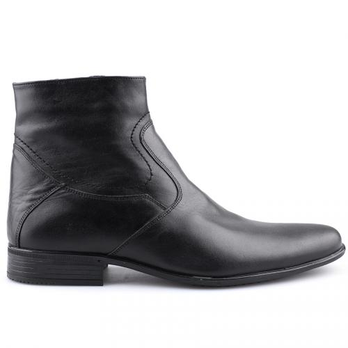 мъжки елегантни боти черни 0109243