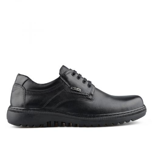 мъжки ежедневни обувки черни 0139513