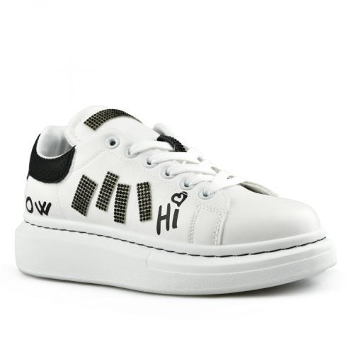 дамски ежедневни обувки бели 0142760