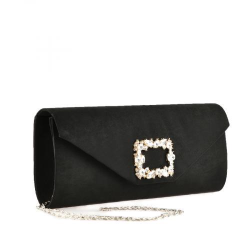 дамска елегантна чанта черна 0139890