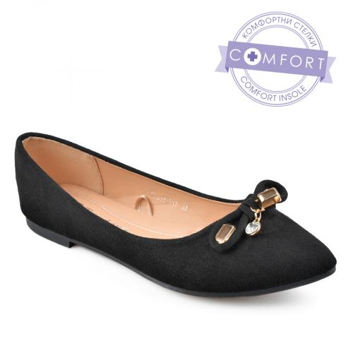 дамски ежедневни обувки черни 0136625