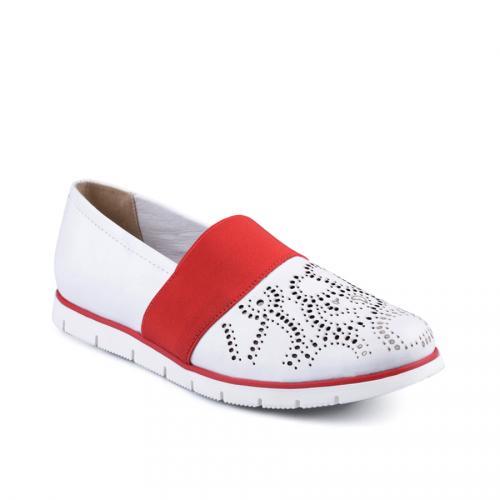 дамски ежедневни обувки бели 0127629