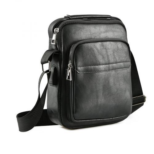 мъжка ежедневна чанта черна 0143880
