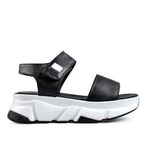 дамски ежедневни сандали черни 0138513