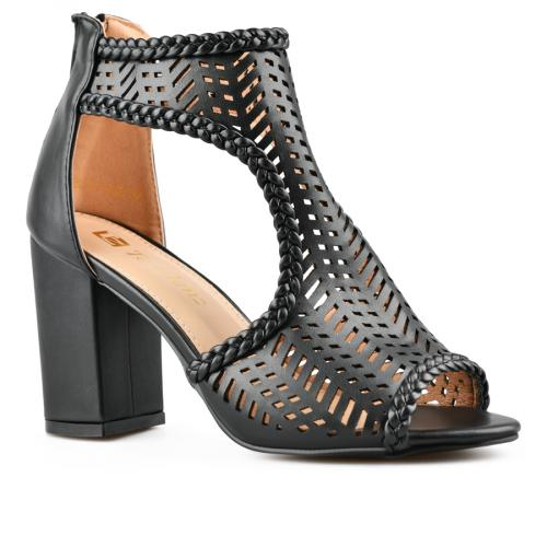 дамски елегантни сандали черни 0143273