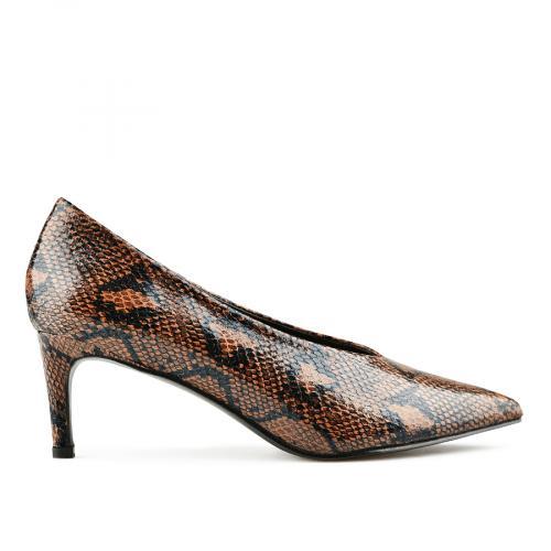 дамски елегантни обувки кафяви 0141682