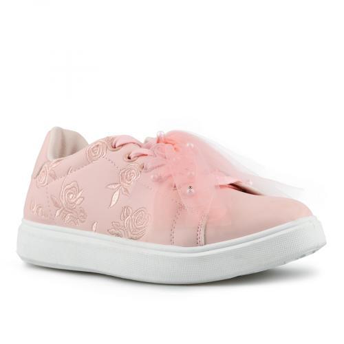 дамски ежедневни обувки розови 0142707