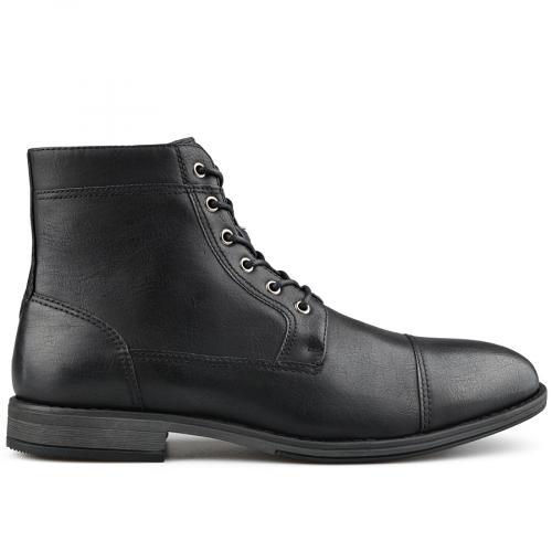 мъжки елегантни боти черни 0139402
