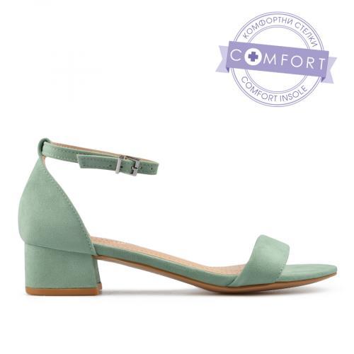 дамски елегантни сандали зелени 0137518 0137518
