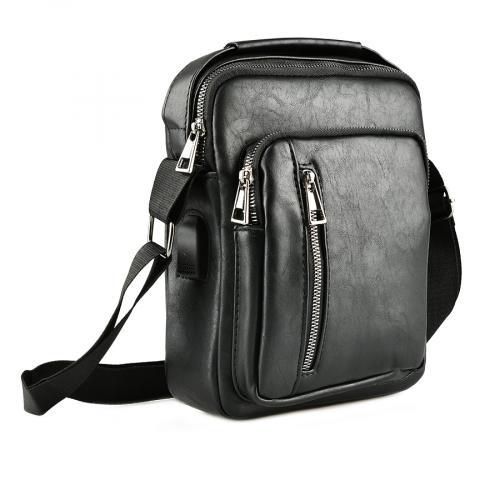 мъжка ежедневна чанта черна 0143884