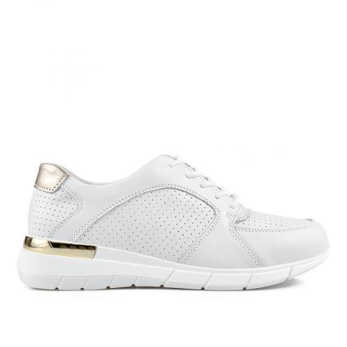 дамски ежедневни обувки бели 0137224