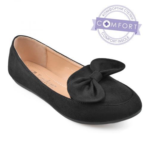 дамски ежедневни обувки черни 0136609