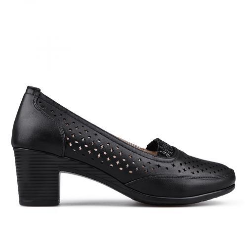 дамски ежедневни обувки черни 0133692