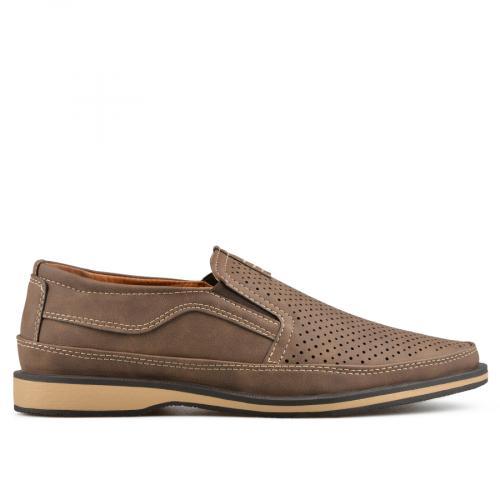 мъжки ежедневни обувки кафяви 0136977