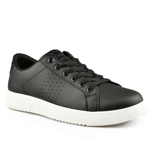 мъжки ежедневни обувки черни 0142045